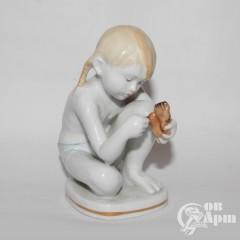 """Скульптура """"Юный скульптор"""""""